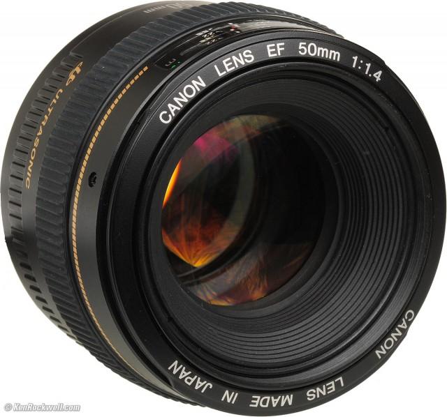 Canon EF 50mm F1.4 USM - 1